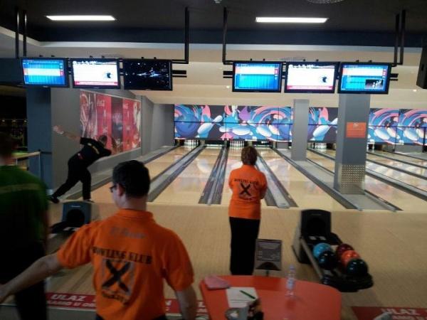 Bowling klub X - Trening