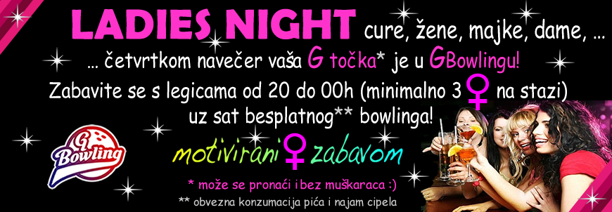Ladies Night u GBowlingu