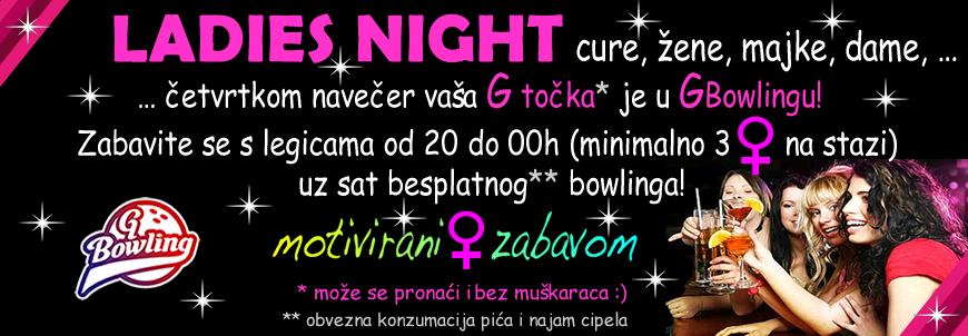 Ladies Night u GBowlingu