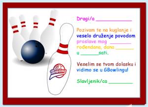 bowling rođendan GBowling pozivnice za rodjendan « GBowling Osijek bowling rođendan